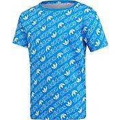 adidas Originals Boys' Trefoil Monogram T-Shirt