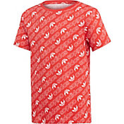 adidas Originals Boys' Trefoil Monogram T-Shirt