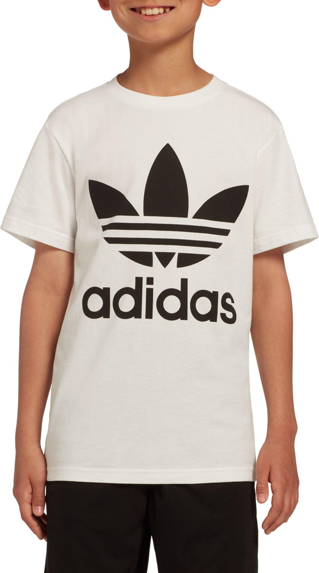 ff341981f53e3 adidas Originals Boys' Trefoil Tee