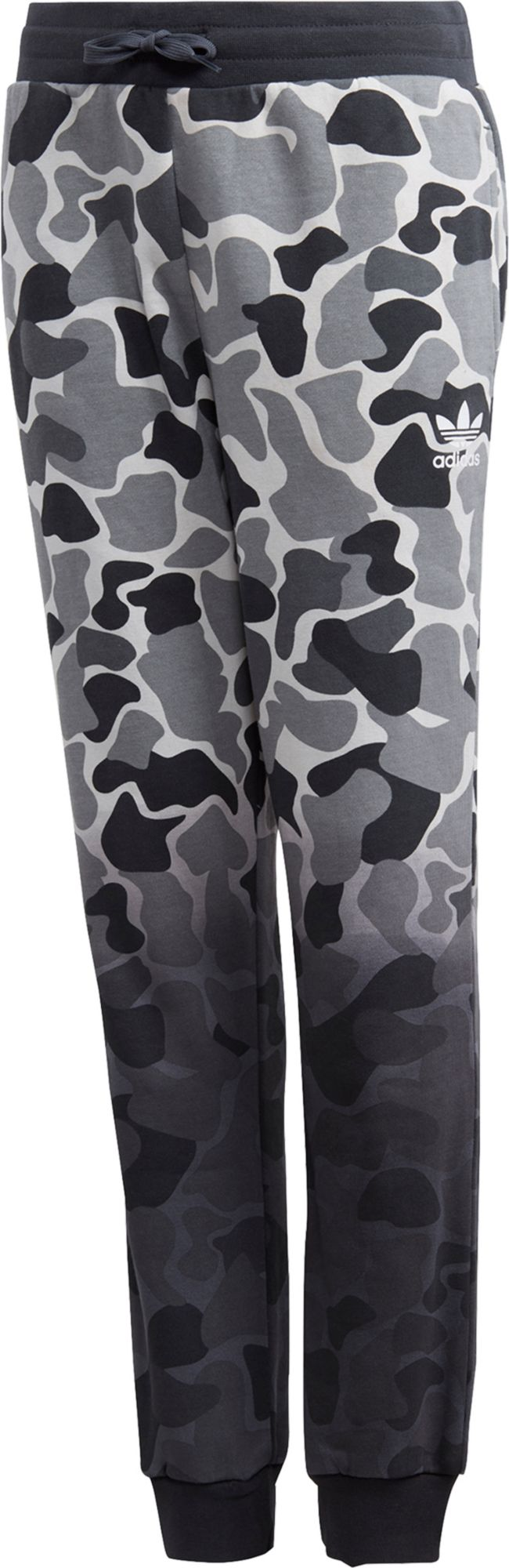 adidas Originals Boys' Camo Trefoil Pants, Size: XS, Green/Black thumbnail