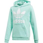 adidas Originals Girls' Trefoil Hoodie