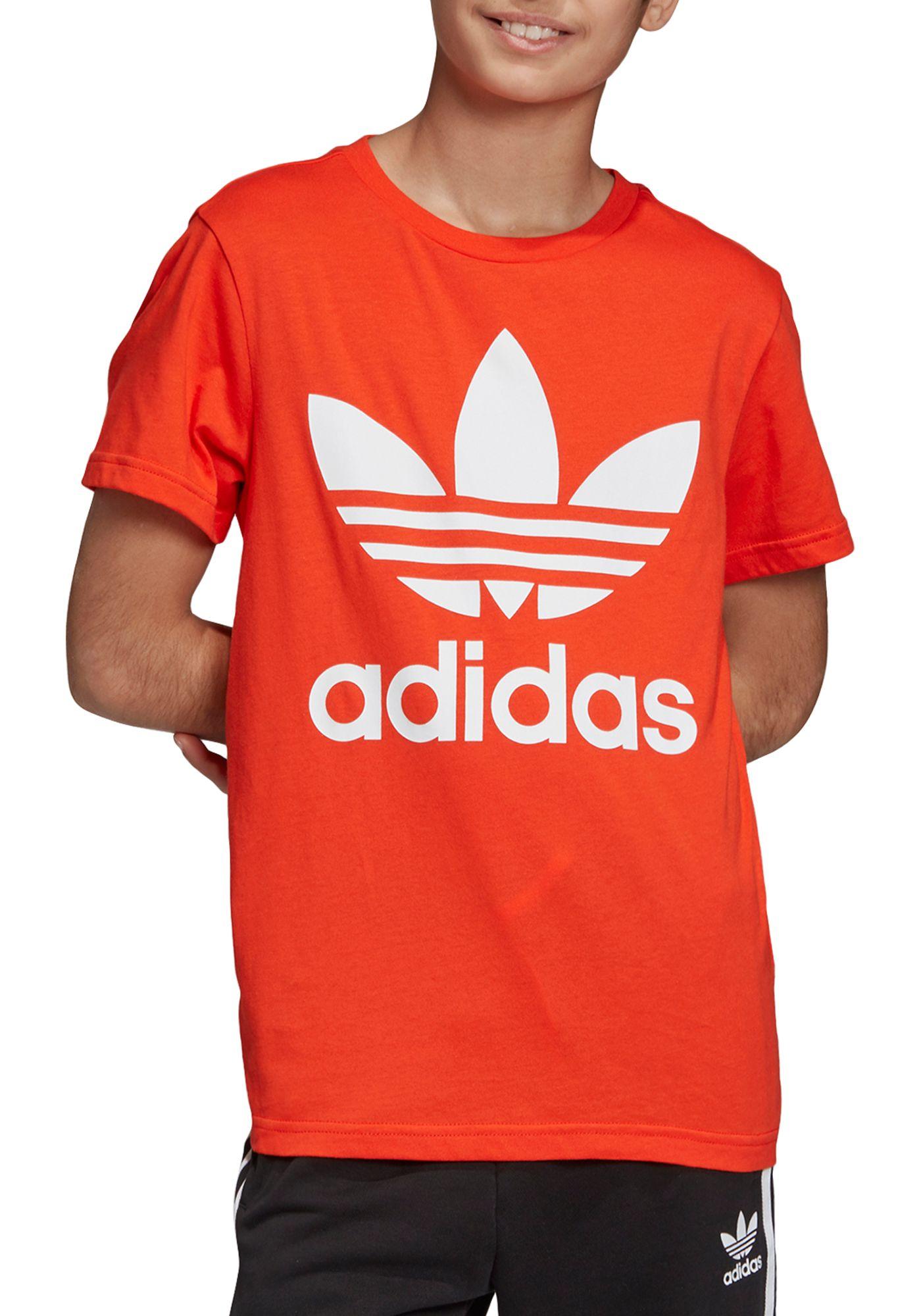 adidas Originals Boys' Trefoil Graphic T-Shirt