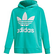 adidas Girls' Adibreak Trefoil French Terry Hoodie