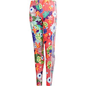 adidas Originals Girls' Floral Graphic Leggings