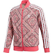 adidas Originals Girls' Mosaic Graphic Track Jacket