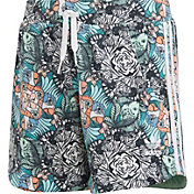 adidas Originals Girls' Zoo Animal Print Shorts