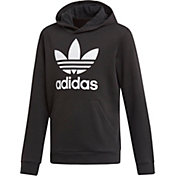 adidas Originals Girls' Trefoil Graphic Hoodie