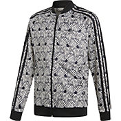 adidas Originals Girls' Zebra Superstar Track Jacket
