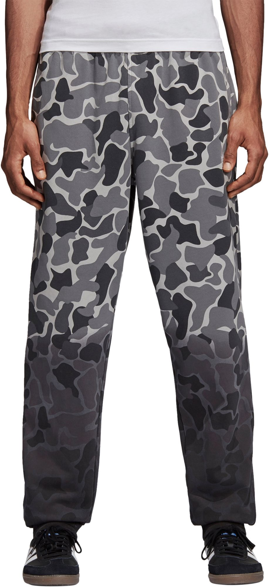 adidas Originals Men's Camo (Green) Dipped Pants, Size: Medium thumbnail