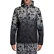 adidas Originals Men's Camo Dipped Windbreaker Jacket