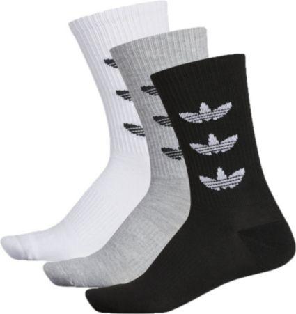 ad60b74bf6876c adidas Men s Originals Trefoil Repeat Crew Socks 3 Pack. noImageFound