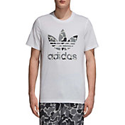 adidas Originals Men's Camo Trefoil Graphic Tee