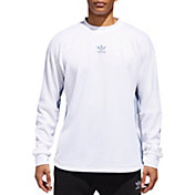 adidas Originals Men's Authentics 3-Stripes Jersey Long Sleeve Shirt