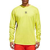 adidas Originals Men's Authentics 3-Stripes Jersey Long Sleeve Shirt