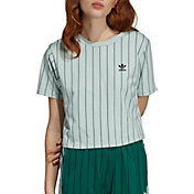 adidas Originals Women's Striped Out Crop T-Shirt