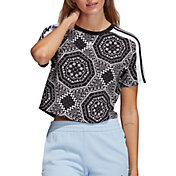 adidas Originals Women's Printed Cropped T-Shirt