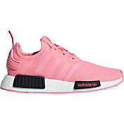 adidas Kids' Grade School NMD_R1 Shoes in Pink/Black