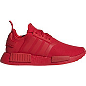 adidas Kids' Grade School NMD_R1 Shoes in Red