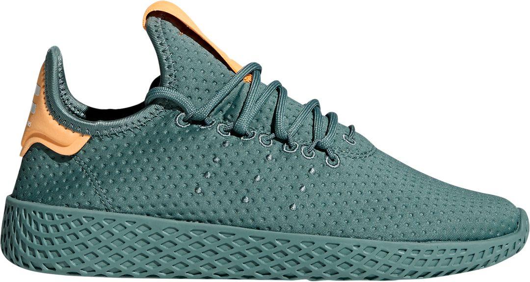 quality design a70ea 10c8e adidas Originals Kids  Grade School Pharrell Williams Hu Tennis Shoes 1