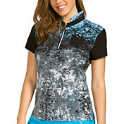 Jamie Sadock Women's Buzzard Print Golf Top