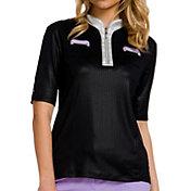 Jamie Sadock Women's Half Sleeve ¼ Zip Golf Top