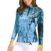 Jamie Sadock Women's Star Ship Print Golf Top