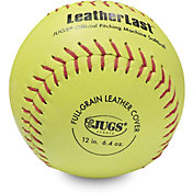 Jugs Leatherlast Softballs – 12 Pack