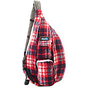 KAVU Plaid Rope Bag