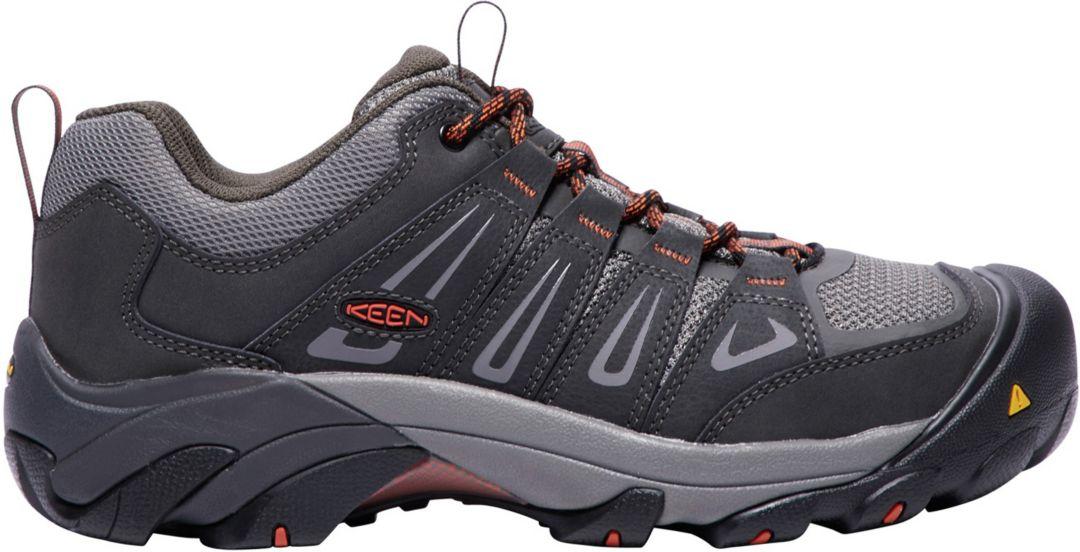 d6751cea505 KEEN Men's Boulder Low Steel Toe Work Shoes