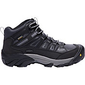 KEEN Men's Boulder Mid Waterproof Steel Toe Work Boots