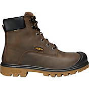 KEEN Men's Baltimore 6'' Waterproof Steel Toe Work Boots