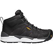 KEEN Men's San Antonio Mid Aluminum Toe Work Boots