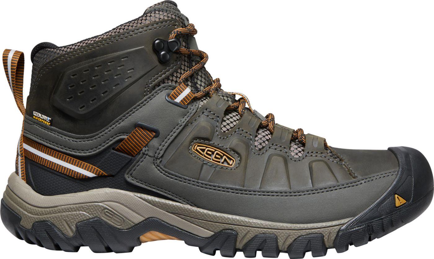 KEEN Men's Targhee III Mid Waterproof Hiking Boots