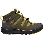 KEEN Kids' Hikeport Mid Waterproof Hiking Boots