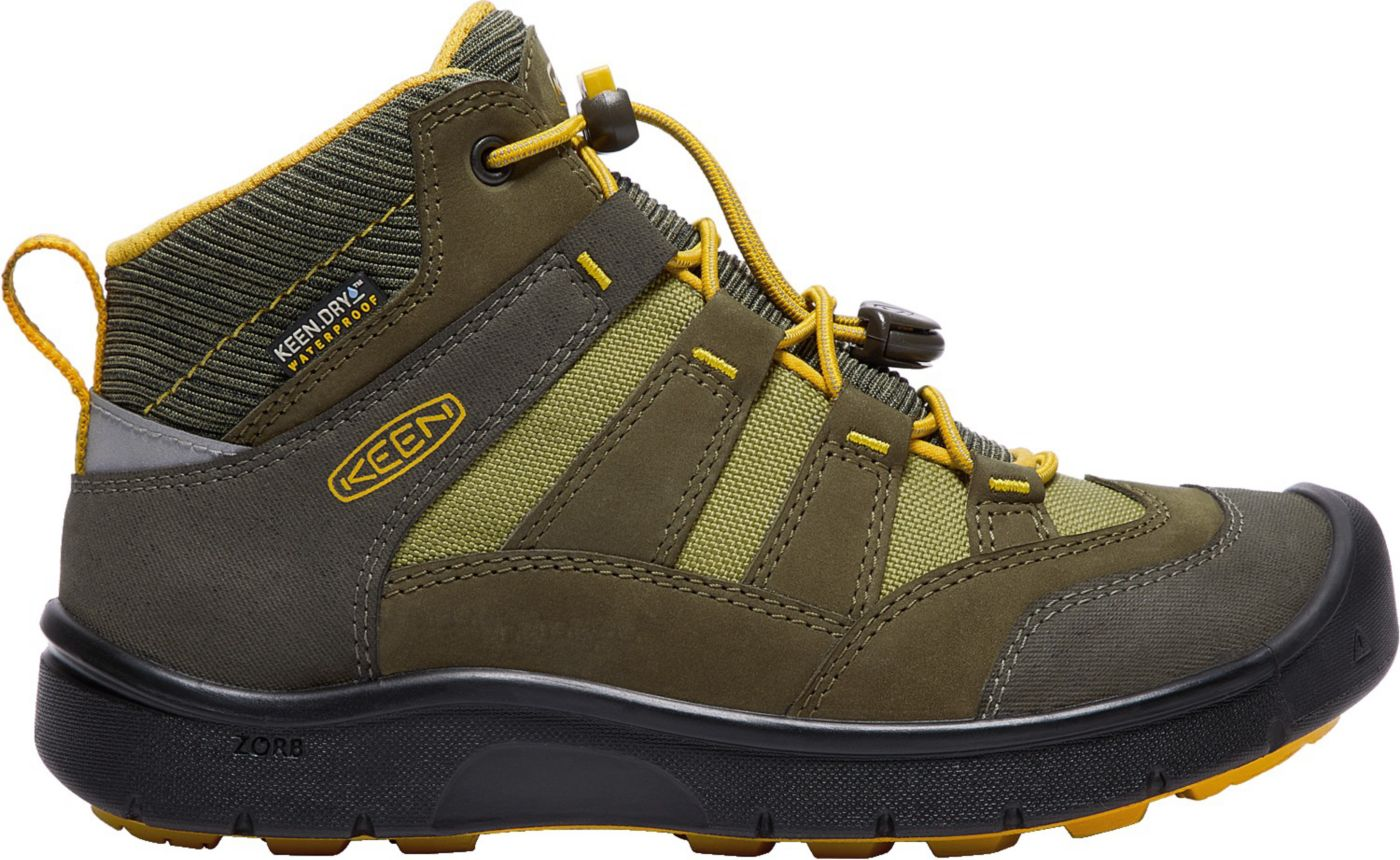 KEEN Kids' Hikeport Mid Waterproof Hiking Boots