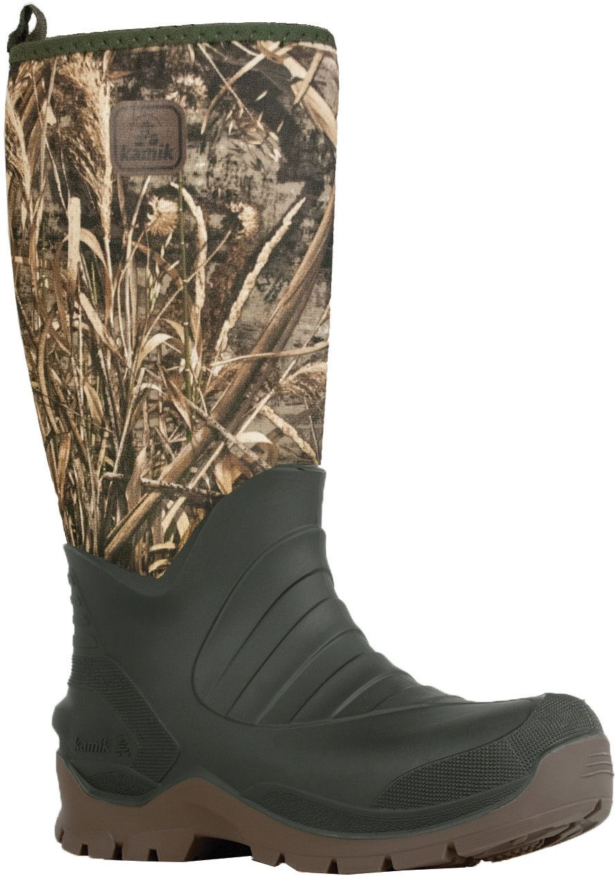 Kamik Men's Bushman Realtree Max 5 Rubber Hunting Boots, Size: 13.0, Multi thumbnail