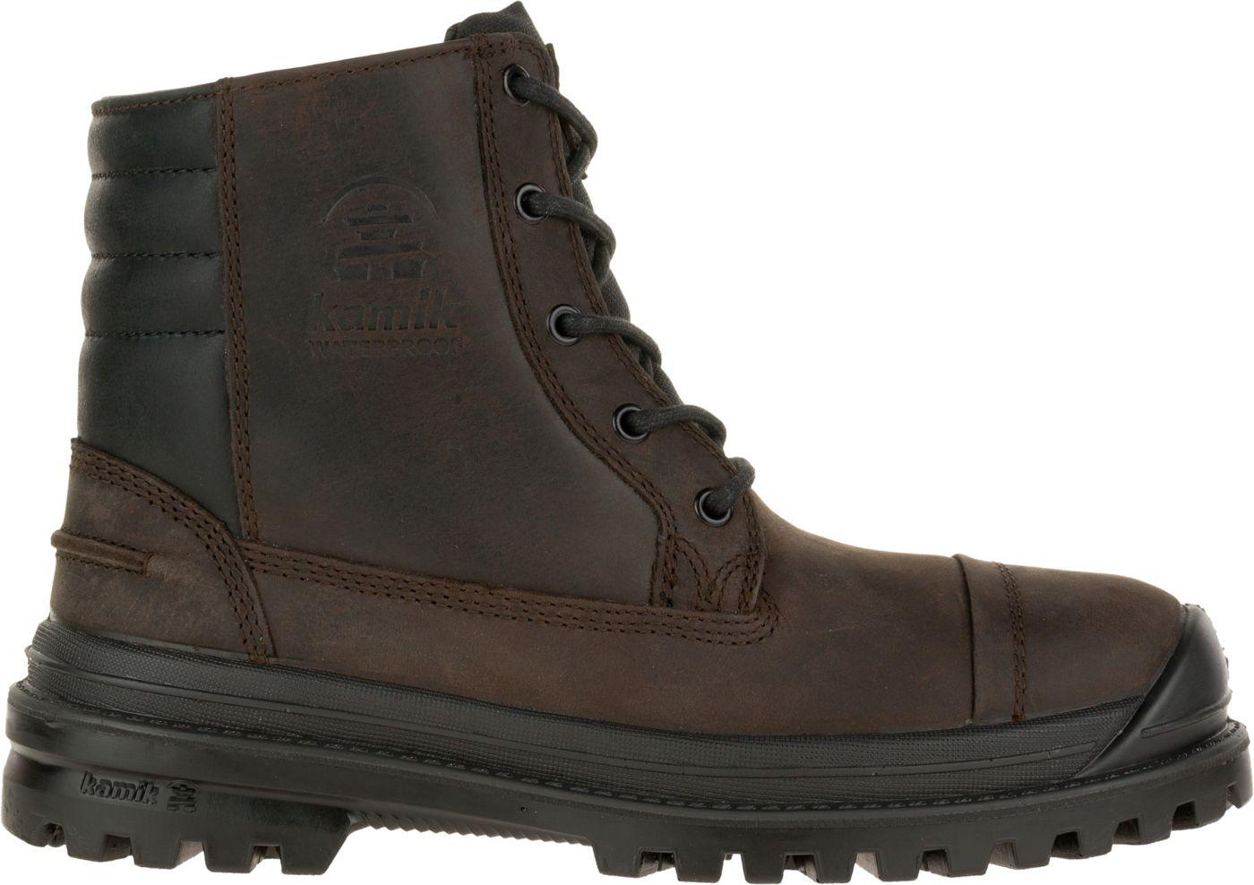 Kamik Men's Griffon 200g Waterproof Winter Boots