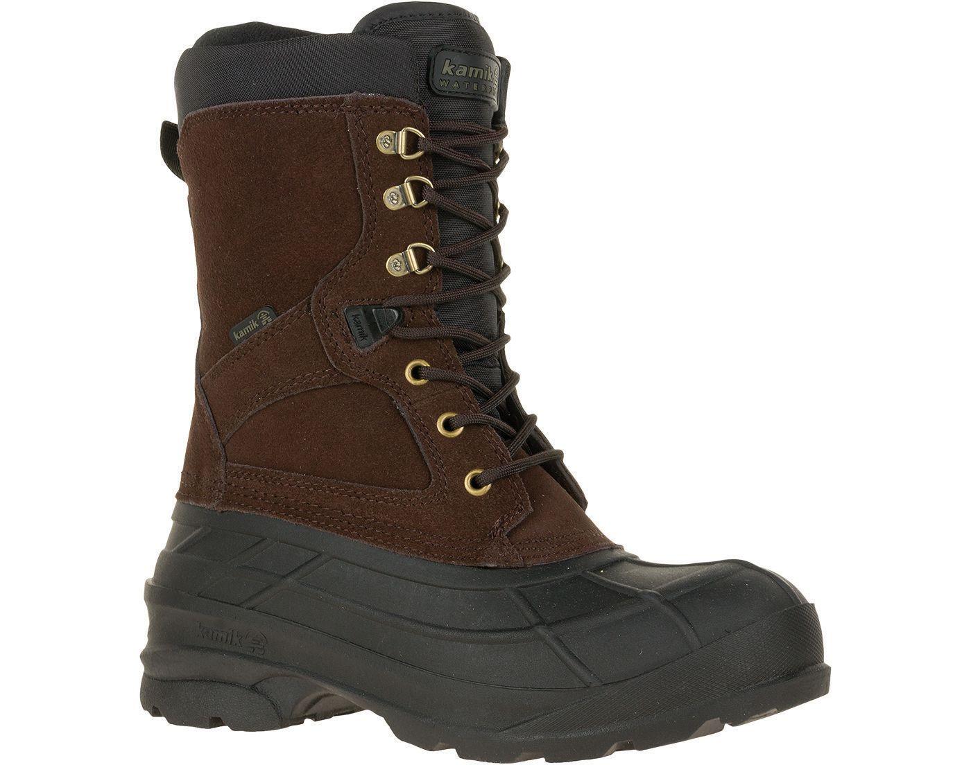 Kamik Men's Nation 200g Waterproof Winter Boots