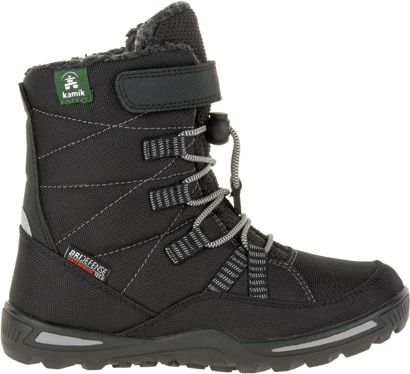 Kamik Kids' Jace Insulated Waterproof Winter Boots