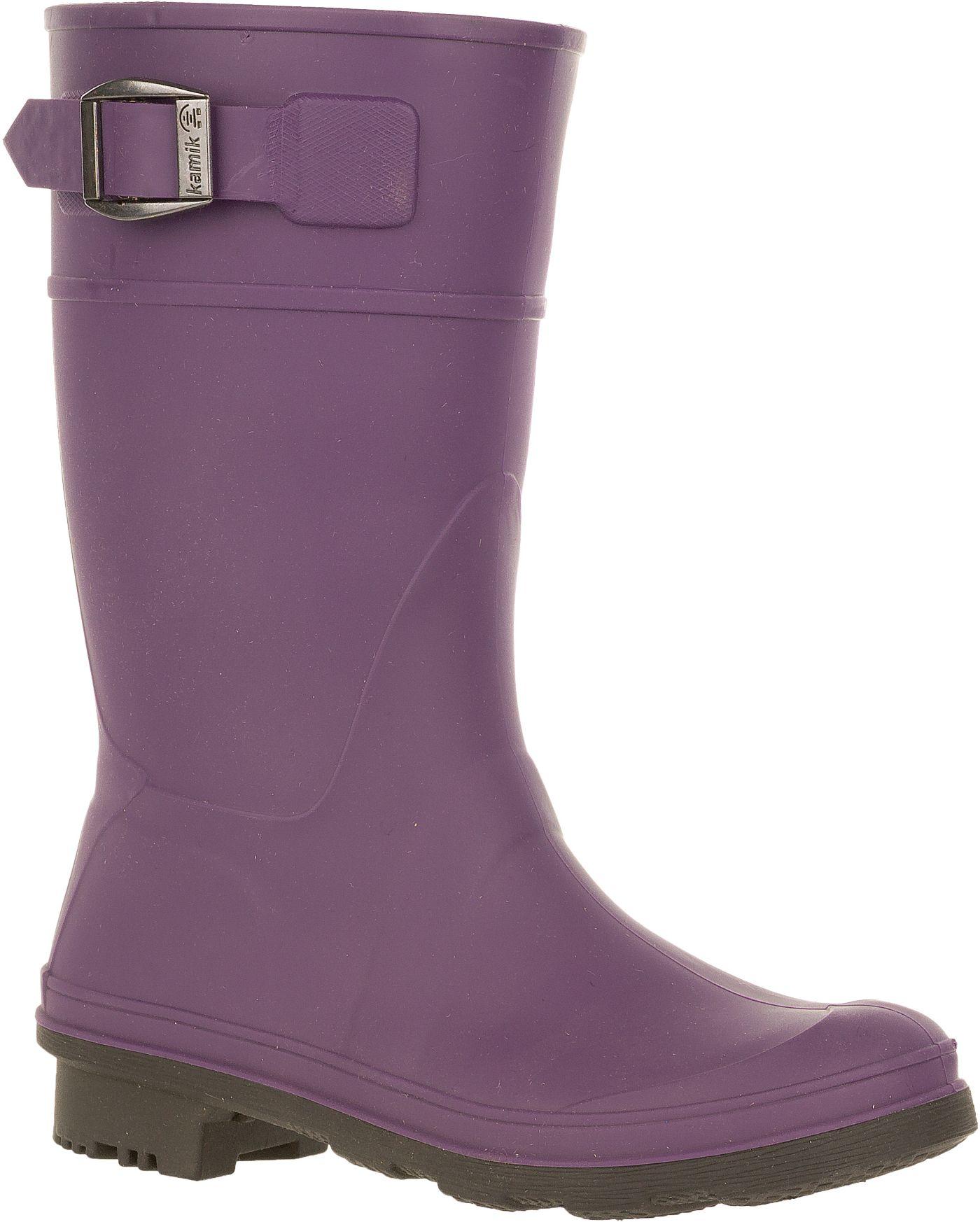 Kamik Kids' Raindrops Rain Boots