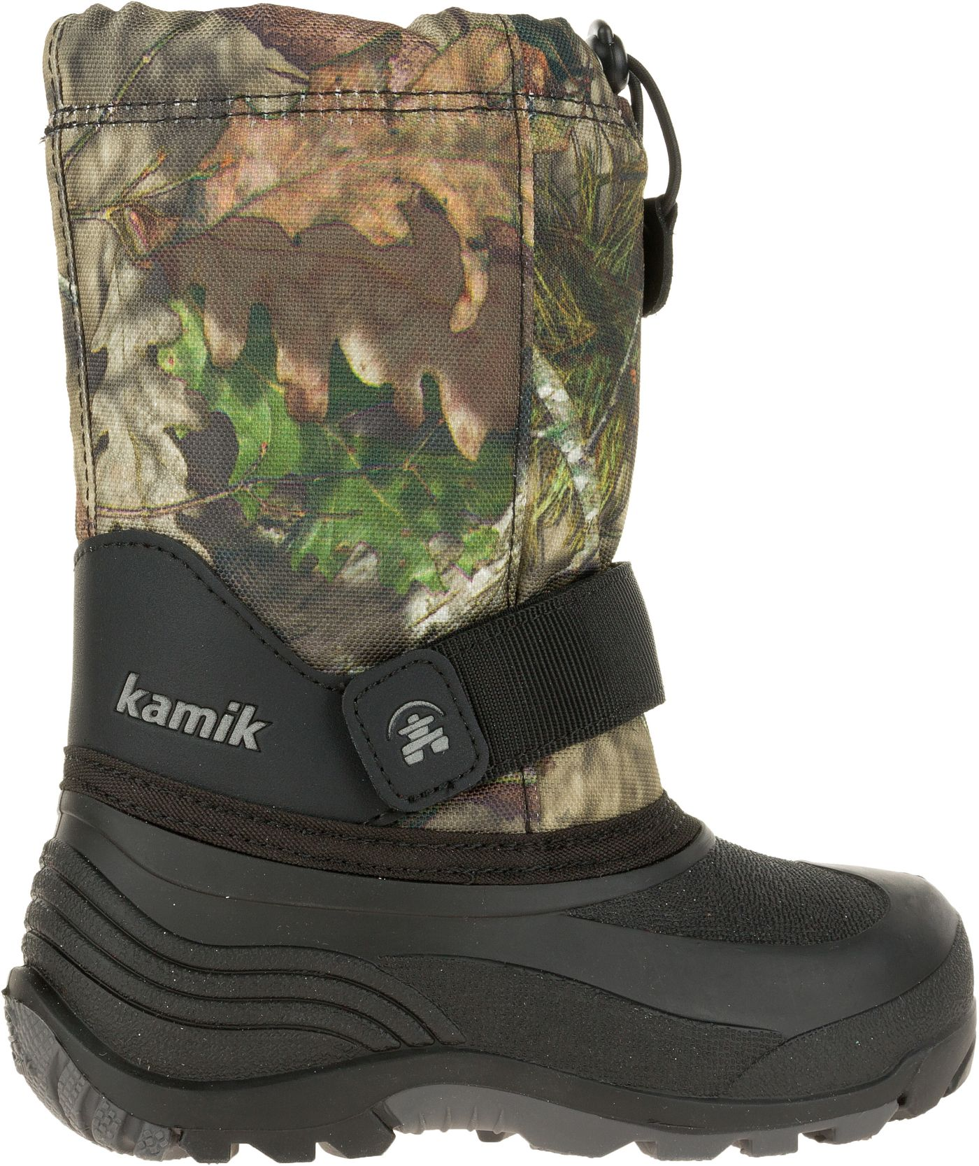 Kamik Kids' Rocket Mossy Oak Country Insulated Winter Boots