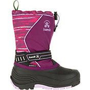 Kamik Kids' SnowcoastP Insulated Waterproof Winter Boots