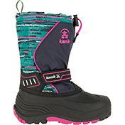 Kamik Kids' SnowcoastP Insulated Waterproof Winter Boots