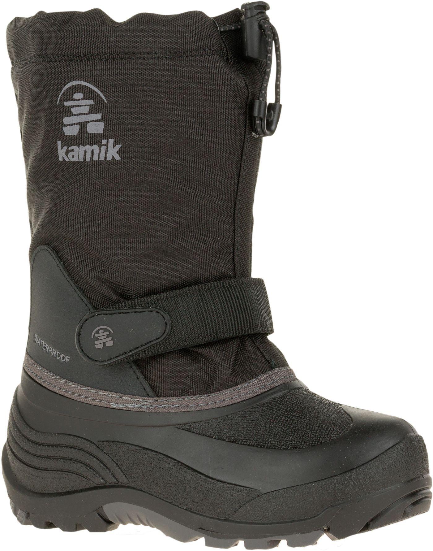 Kamik Kids' Waterbug5 Insulated Waterproof Winter Boots