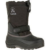 Kamik Kids' WaterbugW Insulated Waterproof Wide Winter Boots