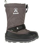 Kamik Kids' WaterbugW Insulated Waterproof Wide Winter Boots