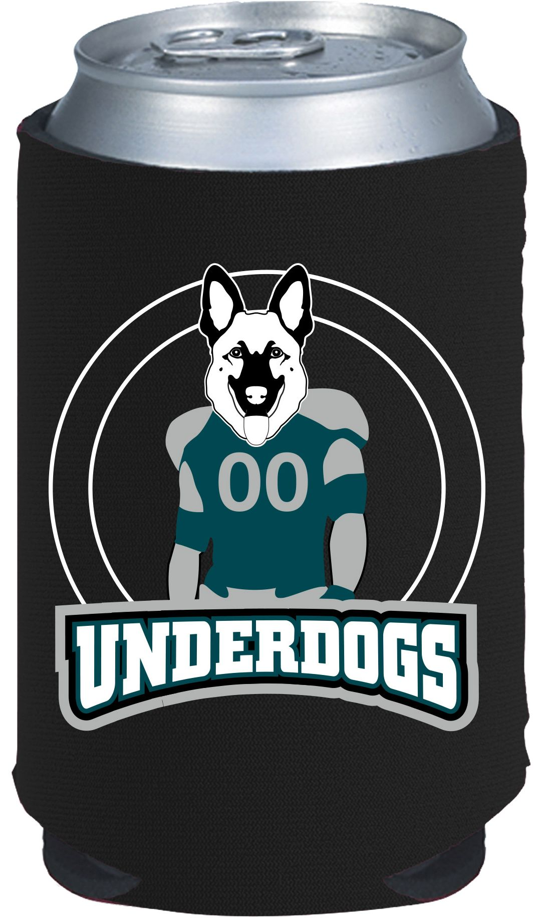 check out d3b87 5369b Kolder Philadelphia Eagles Underdog Koozie