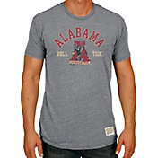 Original Retro Brand Men's Alabama Crimson Tide Grey Tri-Blend T-Shirt