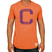 Product Image · Original Retro Brand Men s Clemson Tigers Orange Tri-Blend T -Shirt fbcca1ae7