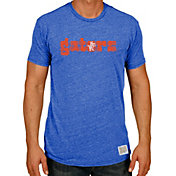 Original Retro Brand Men's Florida Gators Blue Tri-Blend T-Shirt